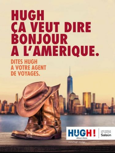 USA - Canada:  Salaün Holidays édite son nouveau catalogue Hugh!
