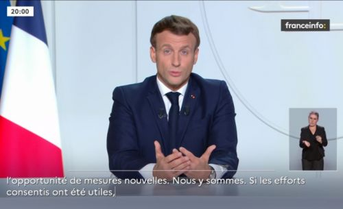 Emmanuel Macron annonce un confinement sur l'ensemble du territoire national