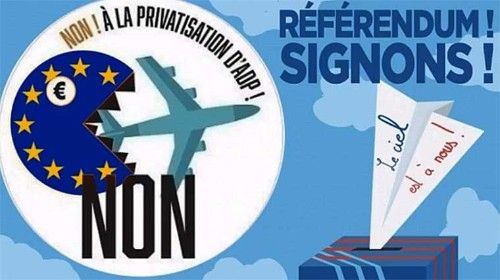 Contre La Privatisation D'aéroports De Paris