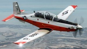 Crash mortel d'un T-6B Texan II de l'US Navy en Alabama