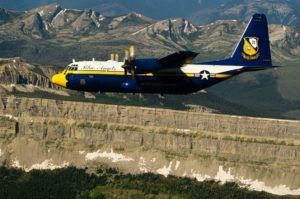 Fat Albert survole le Chinese Wall