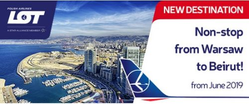 LOT Polish Airlines lance une ligne vers Beyrouth