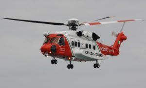 Les Sikorsky S-92 de l'Irish Coast Guard en alerte