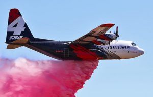 Les pompiers volants californiens affrontent le terrible Kincade Fire