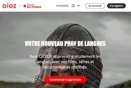 Qioz:  l'Île-de-France ouvre son e-learning des langues à l'hôtellerie-restauration