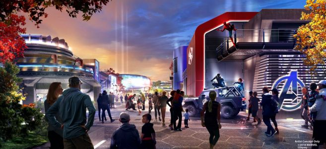 Disneyland Paris dévoile un nouvel aperçu de la future zone Marvel tant attendue du Parc Walt Disney Studios