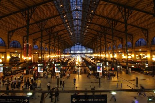 Air France teste un service d'enregistrement des bagages à la Gare du Nord