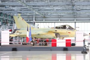 Dassault Aviation lance le développement du Rafale F4