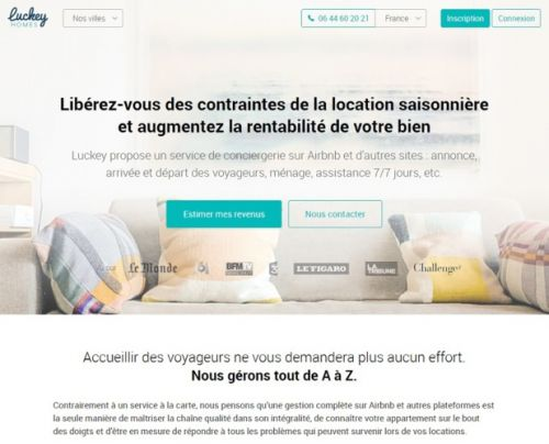 Airbnb rachète la start-up Luckey